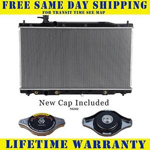 Radiator With Cap For Honda Fits Cr V 2 4 L4 4cyl 2954wc