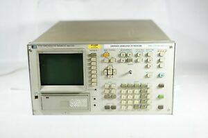 Hp Hewlett Packard 4145a Semiconductor Parameter Analyzer