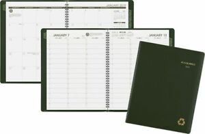 At a glance Recycled Weekly monthly Appointment Book Weekly Monthly