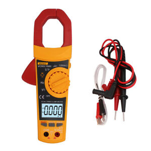 Digital Electronic Clamp Meter Multimeter Current Volt Tester Lead Vc903