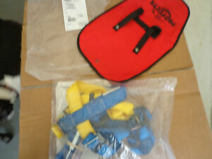 New Protecta Ab17533 Fall Protection Safety Harness Lanyard Kit