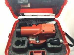 Mint Hilti Pol 10 Optical Level Measuring Systems W 20x Magnification 425444
