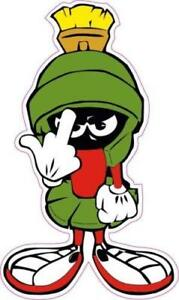 Marvin The Martian Flip Off Vinyl Decal Sticker Car Truck Laptop Funny Jdm