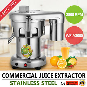 Commercial Type Juice Extractor Stainless Steel Juicer Heavy Duty Wf a3000