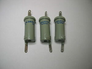 Doorknob Capacitor K15 14 120pf 2kv Nos Lot Of 3pcs