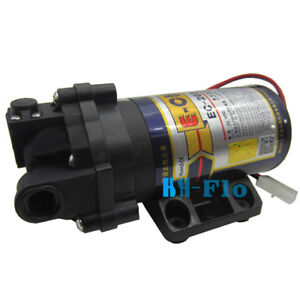 Dc 24v Automatic Booster Pump 96lph Ro Domestic Diaphragm Water Pump 30 Psi