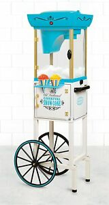 Snow Cone Machine Commercial Stand Shaved Ice Cart Maker Concession Shaving Cone
