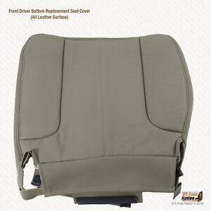 2003 2004 2005 Dodge Ram 2500 Slt Plus Driver Botom Leather Seat Cover Color Tan