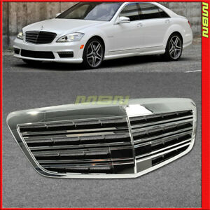 2007 2013 Mercedes Benz Mb S550 S600 S350 W221 Front Hood Grille S63 S65 Style