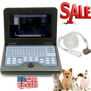 Vet Small Animals Pregnancy ultrasound Scanner Diganostic System Micro Convex Us