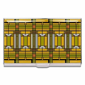 Home Studio Business Card Case By Frank Lloyd Wright For Acme Studio