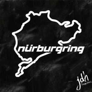 Nurburgring Vinyl Decal Sticker Funny Jdm Race Car Track Import Euro Wrx Bmw