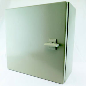 Yuco 16 16 8 Metal Ip65 Nema Type 4 Enclosure With Backplate Yc 16x16x8 ip65
