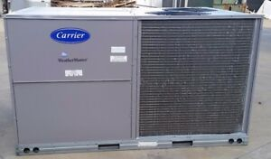 Carrier 7 5 Ton High Efficiency Packaged Rooftop Heat pump Unit