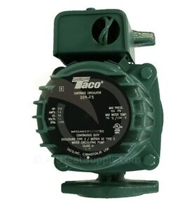 Taco 009 f5 Cast Iron High Velocity Cartridge Circulator Pump
