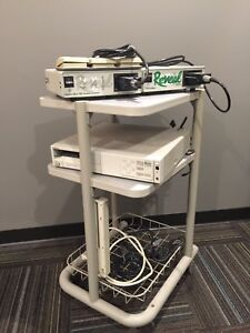 Reveal Intraoral Camera printer controls cart