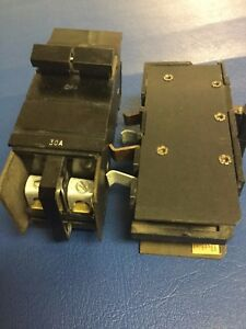 30 Amp Xo Square D Cutler Hammer Double Or 2 Pole Wide 30a Circuit Breaker Xo230