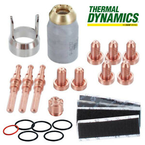 5 0075 Genuine Thermal Dynamics Sl60 Torch 60 Amp Consumables Parts Kit