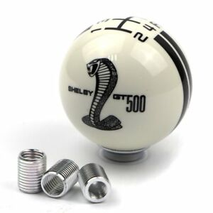 Gear Shift Knob For Ford Mustang Black Snake Cobra 5 Speed Manual Lever Stick