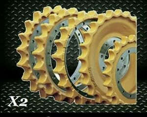Sprocket Group X2 D3g D4g W Hardware Both Sides Replacement Cat Caterpillar