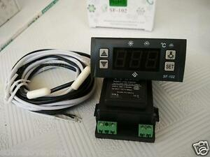 Sf 102 Electronic Temperature Controller Digital Display Freezer Thermostat