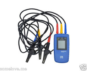 Cem Dt 901 Three 3 Phase Rotation Indicator Tester Meter Brand New High Quality