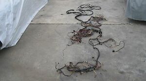 1975 Porsche 914 1 8 Mostly Complete Car Wiring Harness Original Genuine German