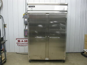 Continental Two 2 Door Stainless Steel Heavy Duty Commercial Reach In Freezer 2f