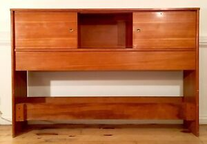 Mid Century Danish Modern Bedroom Set Headboard