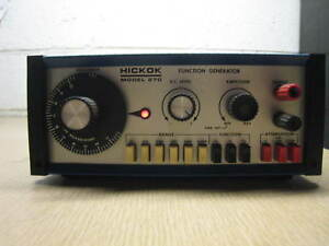 Hickok Model 270 Function Generator 521 01564 Free Shipping