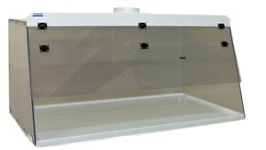 Cleatech Static Dissipative Pvc 36 Ducted Fume Hood W Worksurface
