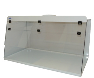 Cleatech Clear Polycarbonate 72 Ducted Fume Hood W Worksurface