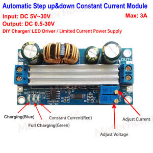 3a Dc Adjustable Automatic Constant Voltage current Step Up down Charger Module