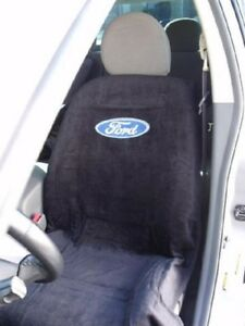 New 1994 2020 Ford F150 F250 Black Seat Cover Seat Armour Towel Ford Logo