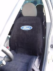 New 1994 2017 Ford F150 F250 Black Seat Cover Seat Armour Towel Ford Logo