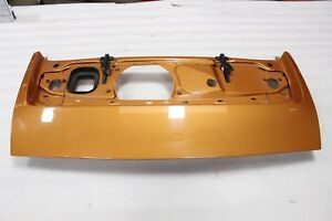 Porsche 997 Carrera 911 Rear Engine Hood Deck Trunk Lid Spoiler Wing Shell Bare