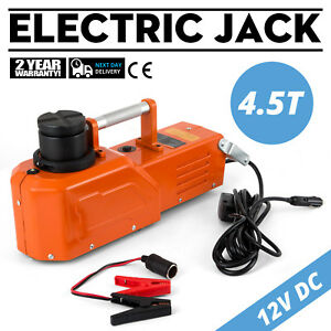 12v Hydraulic Floor Jack Electric Car Lift 9900lbs Portable Auto Car Use Pro