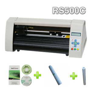 Rs500c Mini 20 Desktop Cutting Plotter Artcut Software 1 Vinyl 1 Transfer