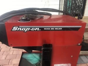 Snap on Ya240a Mig Welder