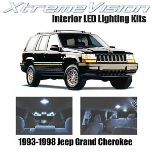 Xtremevision Led For Jeep Grand Cherokee 1993 1998 9 Pieces Cool White Premium