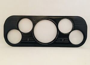 1937 1938 Chevy Car 5 Gauge Dash Insert Black