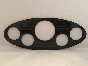 1934 Ford Truck 5 Gauge Dash Insert Black