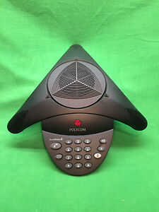 Polycom Soundstation2 Speaker Phone 2201 15100 601 With 2 Power Supplies
