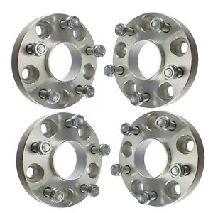 4 1 Hubcentric 5x110 Wheel Spacers Fits 2015 2018 Jeep Cherokee Renegade