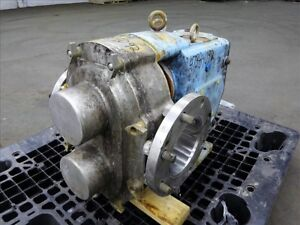 Waukesha 6 Rotary Positive Displacement Pump Model 320 Stainless 47384092
