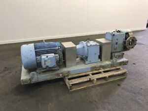 Waukesha Rotary Positive Displacement Pump Model 320 Stainless 47384100