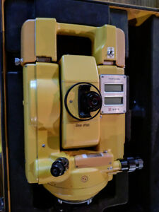 Topcon Et 1 Total Station With Case And Batteries