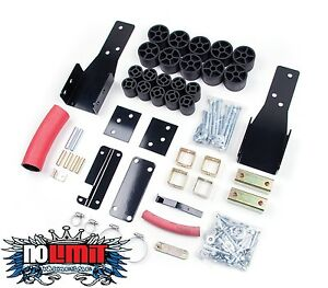 Chevy Gmc 2 Body Lift Kit 1998 2004 S Series Pickup 2wd 4wd Zone Offroad C9201