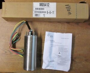 New Nos Itt Centripro M05412 4 Inch Submersible Pump Motor 0 50hp 230v 60hz