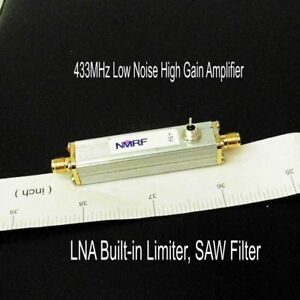 433mhz Low Noise High Gain Amplifier Lna Built in Limiter Saw Filter